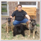 Kenoa and Clints from William Noto  Bella Mi'a with smokey [chow] and bandit